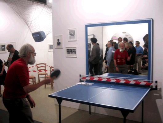 JÚLIUS KOLLER, Ping Pong Cultural Situation, 2007, Performance, gb agency, Art Basel