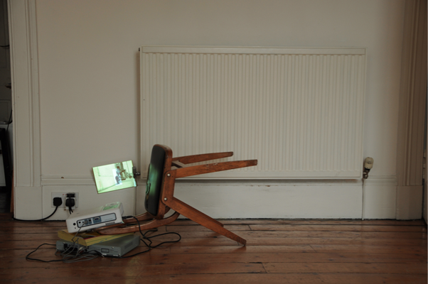 Rob Kennedy 'Possible uses of disorder', 2010, video installation.