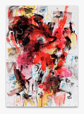 Leo GABIN, Holiday Season, 2011, Painting - lacquer, acrylic and silkscreen ink on canvas , 202 x 145 cm (79.5 x 57.1 inches), LG9250