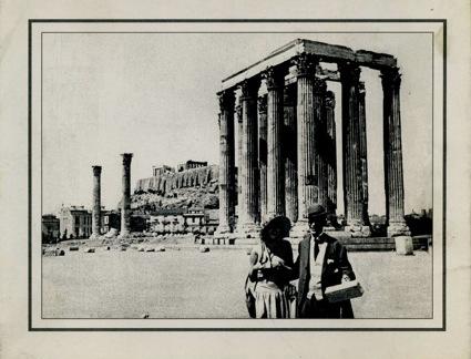 THE ADVENTURES OF VILLAR, Zozeph Hepp, 1924, Villar (Nikos Sfakianakis) and Nitcha Philosophou. The first existing Greek film was restored by the Greek Film Archive Foundation.