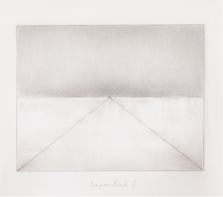 Alexandros Laios, Untitled, 2011, pencil on paper, 25 x 30 cm