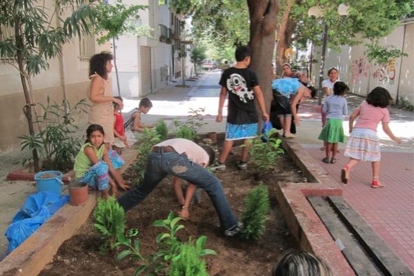 """Τhe first children's community workshop """"My neighborhood"""", Sunday 11/9/2011, Frown Tails (3)"""