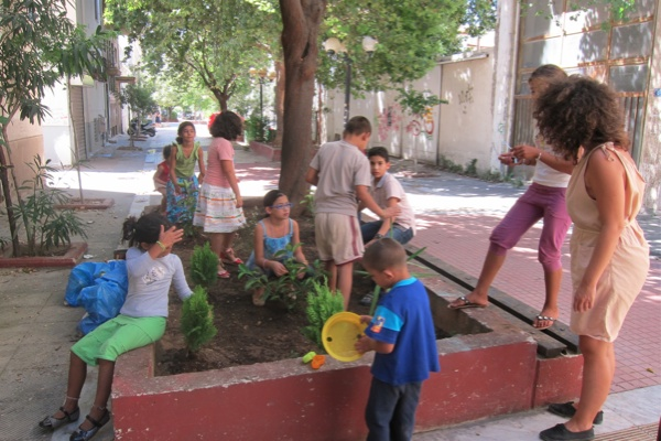 """Τhe first children's community workshop """"My neighborhood"""", Sunday 11/9/2011, Frown Tails (2)"""