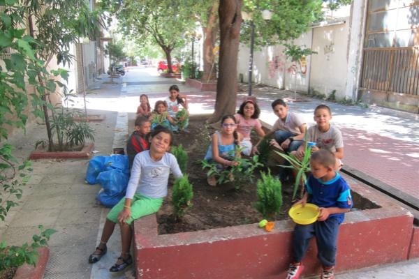 """Τhe first children's community workshop """"My neighborhood"""", Sunday 11/9/2011, Frown Tails (1)"""