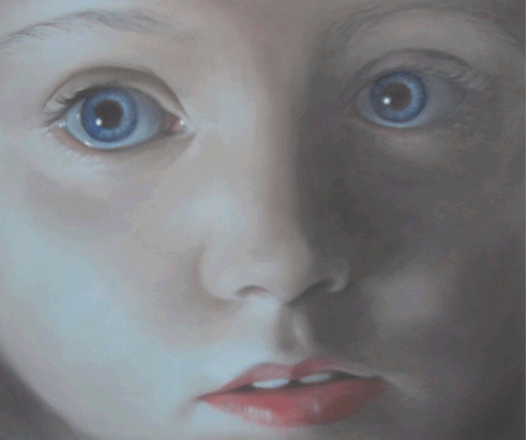 Mantalina Psoma, The Removal 13, 2010, oil on canvas, 50x60cm