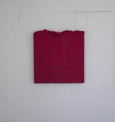 Eugenia Apostolou. Untitled. 2011. Oil on canvas. 50x50 cm. Courtesy of the artist.