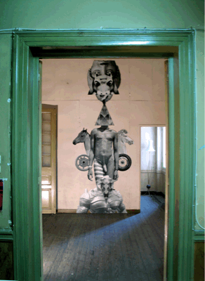 HOPE, Installation view at Kunsthalle Athena, 2010